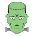 isolated frankenstein avatar vector image