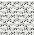 Happy Halloween Hand drawn seamless pattern with vector image