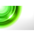 background green light corner round vector image