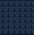 chevron arrow pattern seamless pattern vector image vector image