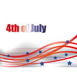 fourth of july fourth of july celebration simple vector image