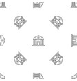 money bank pattern seamless vector image vector image