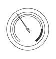 pressure manometer icon vector image