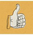 Retro Thumbs Up