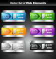 shiny product display vector image vector image