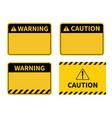 warning sign blank sign