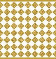 gold glitter square tile seamless pattern vector image
