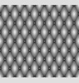 seamless gray leather upholstery texture vector image
