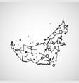 technology image of united arab emirates vector image