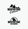 adventure logo badges 3 vector image vector image