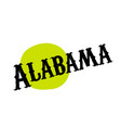 alabama sticker stamp vector image