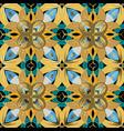 colorful elegance floral greek seamless vector image vector image