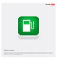 gasoline station icon vector image