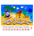 Math education for children logic puzzle game