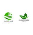 set farm house concept logo template with farm vector image vector image