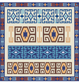 traditional geometric design elements vector image vector image