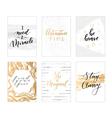 trendy calligraphic quotes vector image