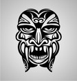 Tribal Ancient Mask vector image vector image