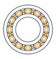 Ball bearing vector image