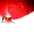 happy new year design with shiny 2013 text vector image vector image