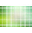 light green shades square mosaic background over vector image vector image
