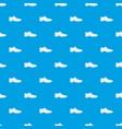 men shoe pattern seamless blue vector image vector image