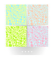 pale abstract seamless patterns vector image vector image