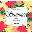 summer sale concept vector image