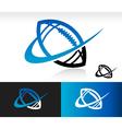 Swoosh Football Logo Icon