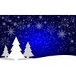 winter season design background vector image vector image