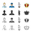 womanhistory antiquities and other web icon in vector image vector image