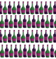 bottle of wine background icon stock vector image