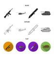 Assault rifle m16 helicopter tank combat knife