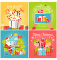 best presents with love sale merry christmas vector image vector image