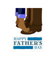 fathers day son vector image