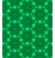 Multicolor geometric pattern in emerald green vector image vector image