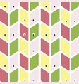 seamless pattern with eye perfect for wallpapers vector image vector image