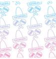 sombrero hat maracas mexico culture pattern image vector image
