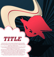 sport template poster windsurfing vector image