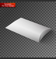 white product package box vector image vector image