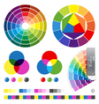 color guides vector image