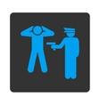 Arrest icon vector image vector image