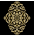Damask Oriental Pattern vector image vector image