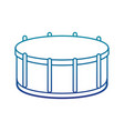 drump musical instrument isolated icon vector image
