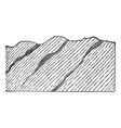 Geological Vein vintage engraved vector image vector image