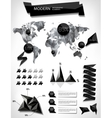 Modern elements of info graphics vector image vector image
