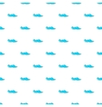 Ocean or sea wave pattern cartoon style vector image