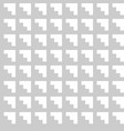 tile grey and white pattern or wallpaper vector image vector image