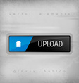 Upload Button vector image vector image
