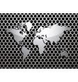 metal grill world vector image